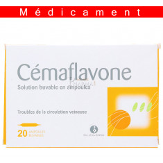 CEMAFLAVONE, solution buvable en ampoule – 20 ampoules