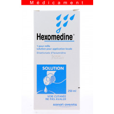 HEXOMEDINE 1 POUR MILLE, solution pour application locale – 250ML