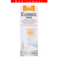 EUVANOL SPRAY, solution pour pulvérisation nasale en flacon pressurisé – 15ML