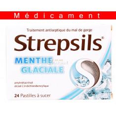STREPSILS MENTHE GLACIALE, pastille à sucer – 24 pastilles
