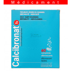 CALCIBRONAT 2 g, comprimé effervescent – 60 comprimés