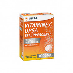 VITAMINE C UPSA EFFERVESCENTE 1000 mg, comprimé effervescent - 20 comprimés