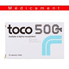 TOCO 500 mg, capsule molle – 30 capsules