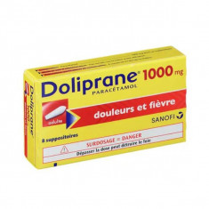 DOLIPRANE ADULTES 1000 mg, suppositoire