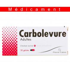 CARBOLEVURE ADULTES, gélule – 30 gélules