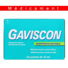 GAVISCON, suspension buvable en sachet - 24 sachets
