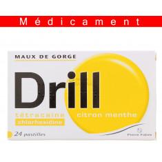 DRILL CITRON MENTHE, pastille – 24 pastilles