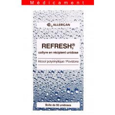 REFRESH, collyre en récipient unidose – 90 unidoses