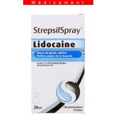 STREPSILSPRAY (à la lidocaïne), collutoire – 20ML