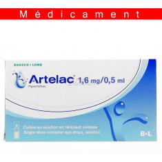 ARTELAC 1,6 mg/0,5 ml, collyre en récipient unidose – 60 unidoses