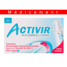 ACTIVIR 5 POUR CENT, crème – 2G
