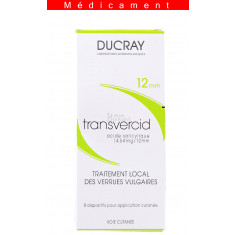 TRANSVERCID 14,54 mg/12 mm, dispositif pour application cutanée