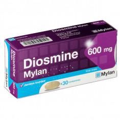 DIOSMINE Mylan 600 mg, comprimé pelliculé – 30 comprimés
