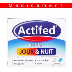 ACTIFED RHUME JOUR ET NUIT, comprimé