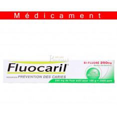 FLUOCARIL BI FLUORE 250 mg MENTHE, gel dentifrice – 75ML