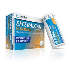 EFFERALGAN VITAMINEC 500 mg/200 mg, comprimé effervescent – 16 comprimés