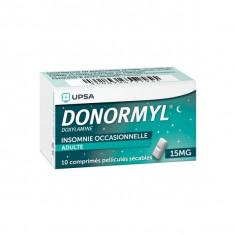 DONORMYL 15 mg, comprimé pelliculé sécable – 10 comprimés