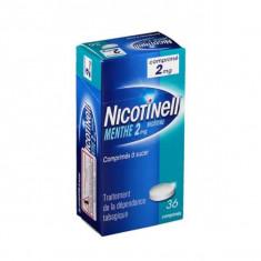 NICOTINELL MENTHE 2 mg, comprimé à sucer – 36 comprimés