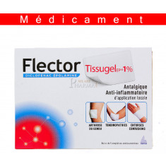 FLECTORTISSUGELEP 1 %, emplâtre médicamenteux – 5 emplâtres