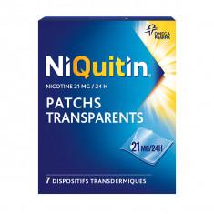 NIQUITIN 21 mg/24 heures Patchs, dispositif transdermique – 7 sachets