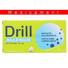 DRILL ALLERGIE CETIRIZINE 10 mg, comprimé à sucer – 7 comprimés
