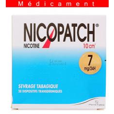NICOPATCH 7 mg/24 h, dispositif transdermique – 28 sachets