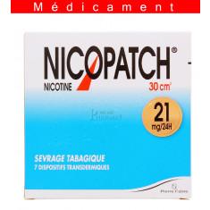 NICOPATCH 21 mg/24 h, dispositif transdermique – 7 sachets