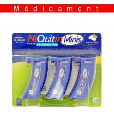 NIQUITINMINIS 4 mg SANS SUCRE, comprimé à sucer édulcoré à l'acésulfame potassique – 60 comprimés