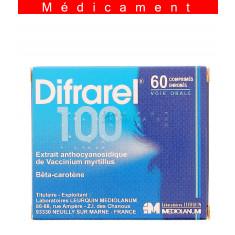 DIFRAREL 100 mg, comprimé enrobé – 60 comprimés
