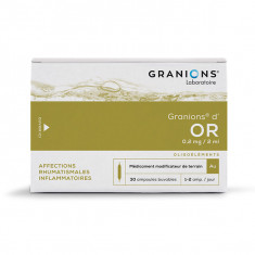 GRANIONS D'OR solution buvable – 30 ampoules