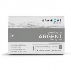 GRANIONS D'ARGENT 0,64 mg/2 ml, solution buvable