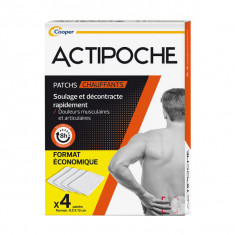 ACTIPOCHE Patchs Chauffants x4