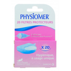 FILTRES PROTECTEURS PHYSIOMER x 20