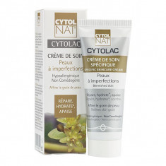 CYTOLNAT CYTOLAC CREME DE SOIN PEAUX A IMPERFECTIONS 50ML