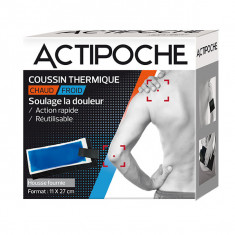 ACTIPOCHE Coussin Thermique Chaud/Froid - 11x27 cm
