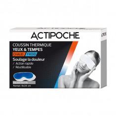 ACTIPOCHE Coussin Thermique Masque Yeux et Tempes
