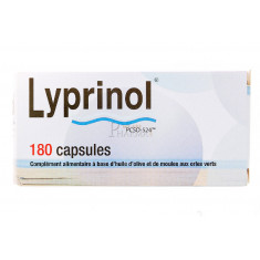 LYPRINOL HEALTH PREVENT 180 CAPSULES