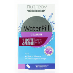 WATERPILL CELLULITE ACTIVITES CIBLEES NUTREOV PHYSCIENCE 3 x 20 COMPRIMES
