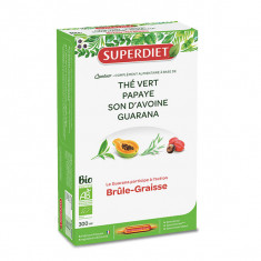 SUPER DIET Quatuor Brûle-Graisse Guarana  x20 Ampoules