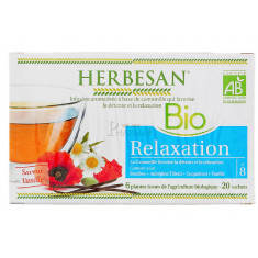 HERBESAN INFUSION RELAXATION 20 SACHETS