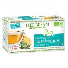 HERBESAN Infusion Respiratoire 20 sachets