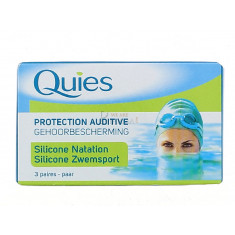 QUIES PROTECTION AUDITIVE MAXI SILICON 3 PAIRES