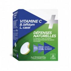 NUTRISANTE Vitamine + Défenses Naturelles 24 comprimés