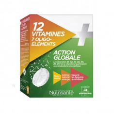 NUTRISANTE 12 Vitamine + 7 Oligo Eléménts 24 comprimés