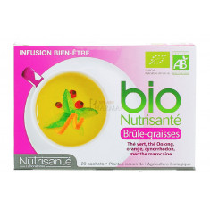BRÛLE-GRAISSES INFUSION BIO NUTRISANTE x 20