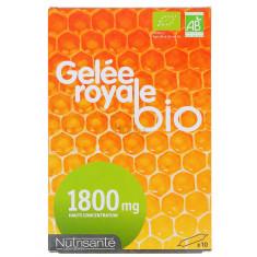 GELEE ROYALE BIO 1800MG NUTRISANTE x 10