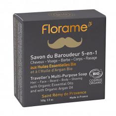 FLORAME Homme Savon du Baroudeur 5en1