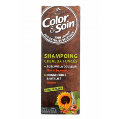 COLOR & SOIN SHAMPOING CHEVEUX FONCES 3 CHENES 250ML
