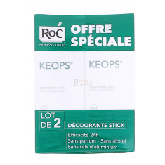 KEOPS DEODORANT STICK ROC 40ML x 2