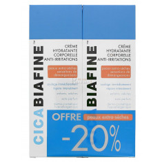 CICABIAFINE CREME HYDRATANTE CORPORELLE ANTI-IRRITATIONS 200ML x 2